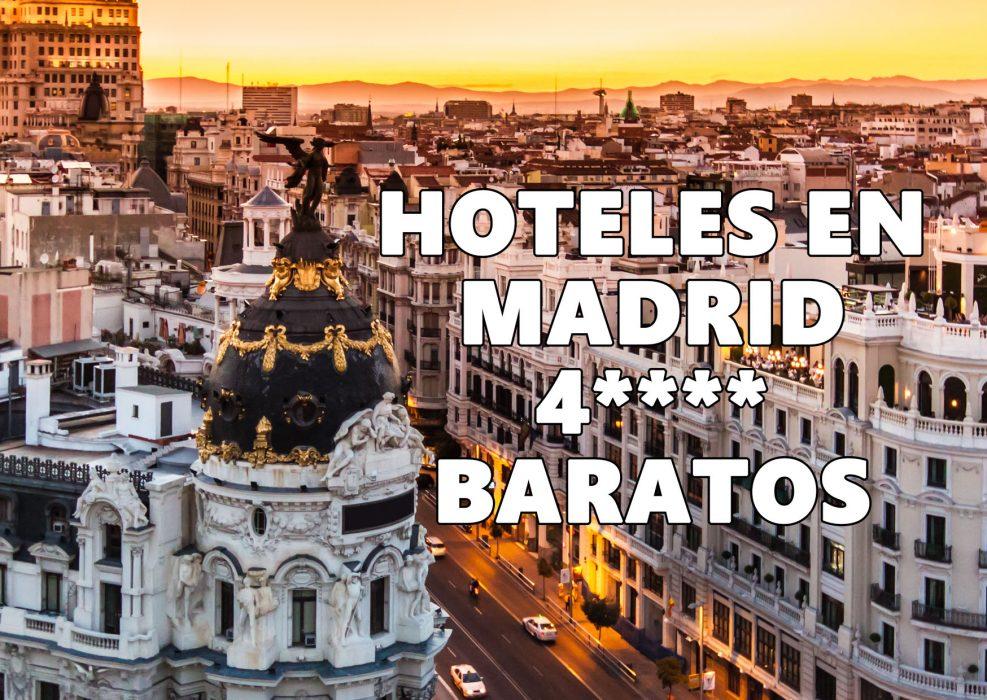 Ocio hoteles en madrid a partir de s lo 36 chollos for Hoteles bonitos madrid