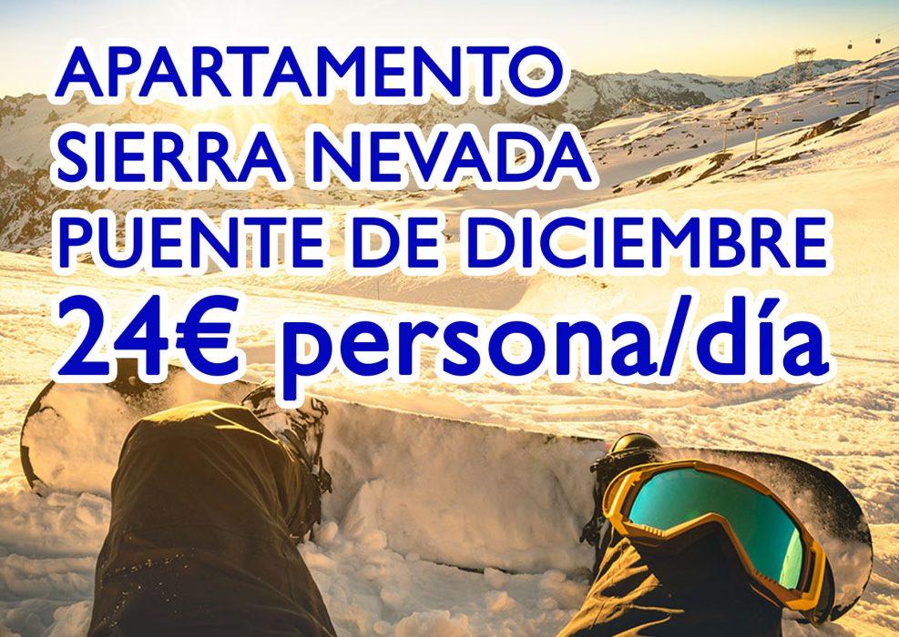 Chollo en alojamiento Sierra Nevada 24€ persona/día – Ocio Hoteles