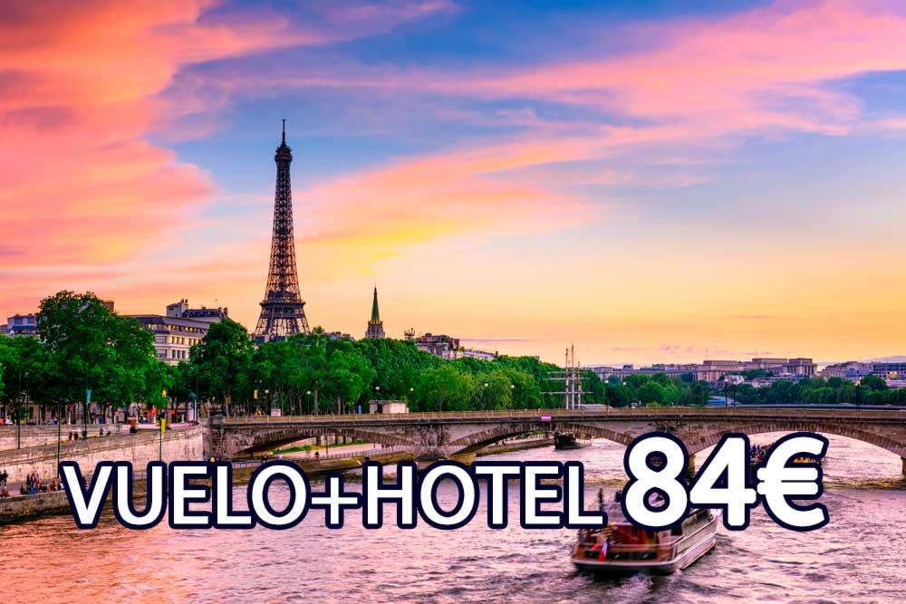 Escapada barata de vuelo+hotel a París en Mayo – Ocio Hoteles