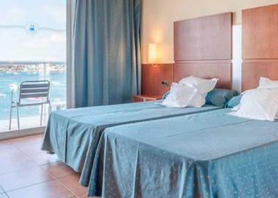 Detalle de Habitación Simbad Hotel & Spa Ibiza