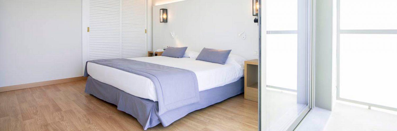 Habitación doble del hotel Estival Torrequebrada