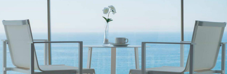 Todas las habitaciones tienen vistas al mar