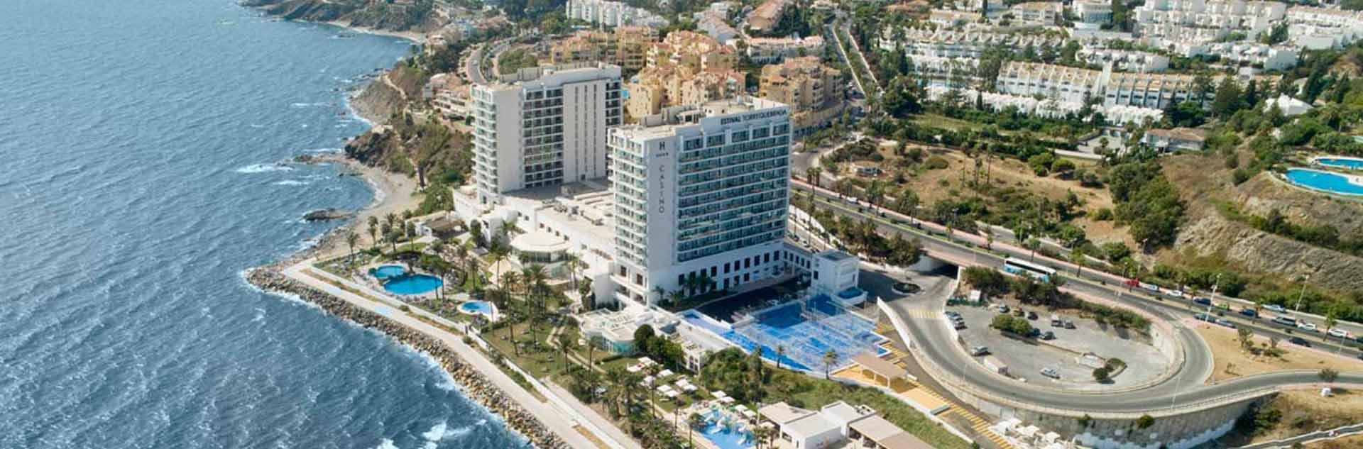 Vista aérea del hotel Estival Torrequebrada Benalmádena
