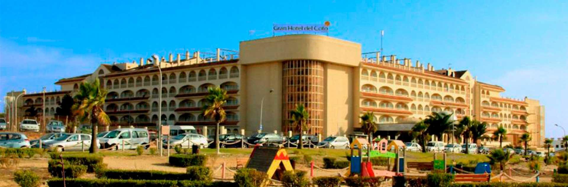 Fachada exterior Gran Hotel del Coto