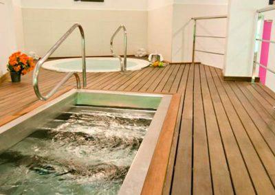 sala de spa del hotel bahia almuñecar para relajarte con un masaje