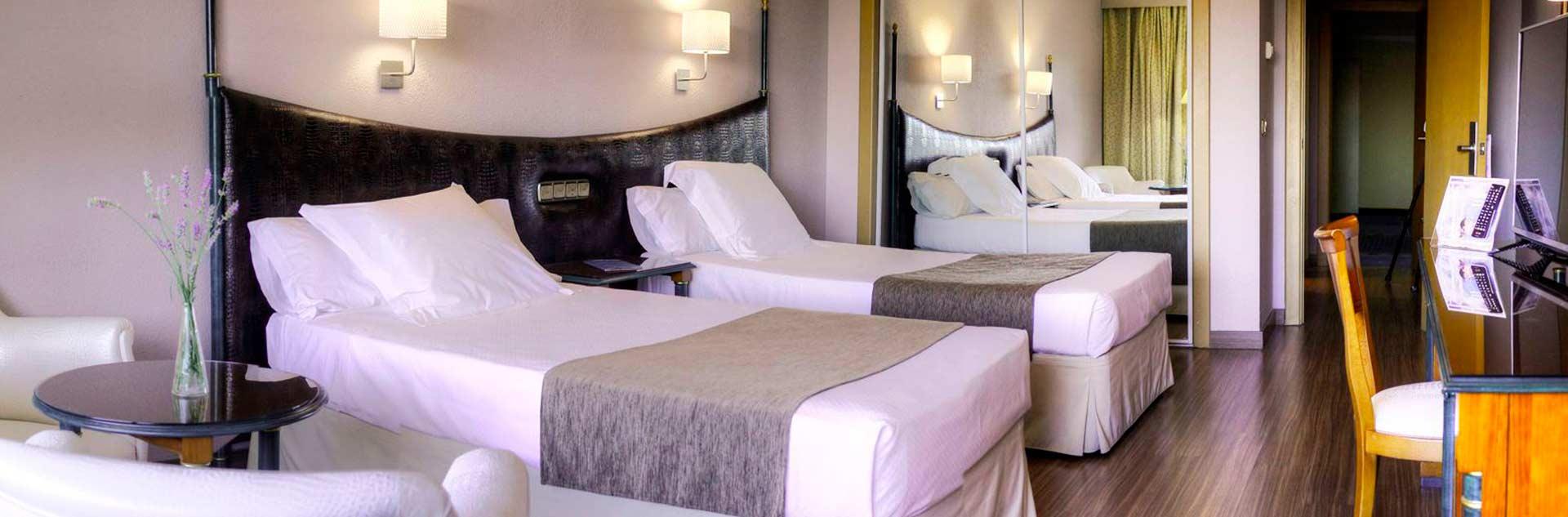 Habitación doble del Hotel Toledo Auditorium & Spa