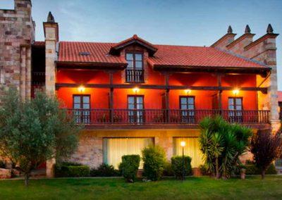 Fachada exterior del Hotel San Marcos 4*