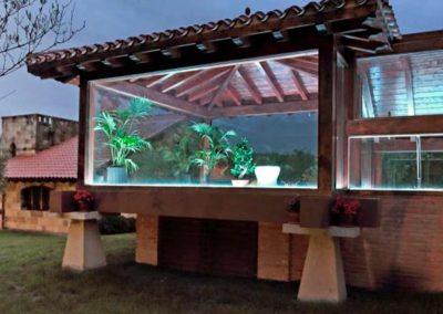 Fachada de la zona relax / spa lde hotel 4* en Santillana del Mar