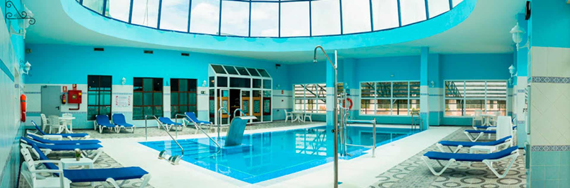 Zona spa del Hotel 4* de Marbella