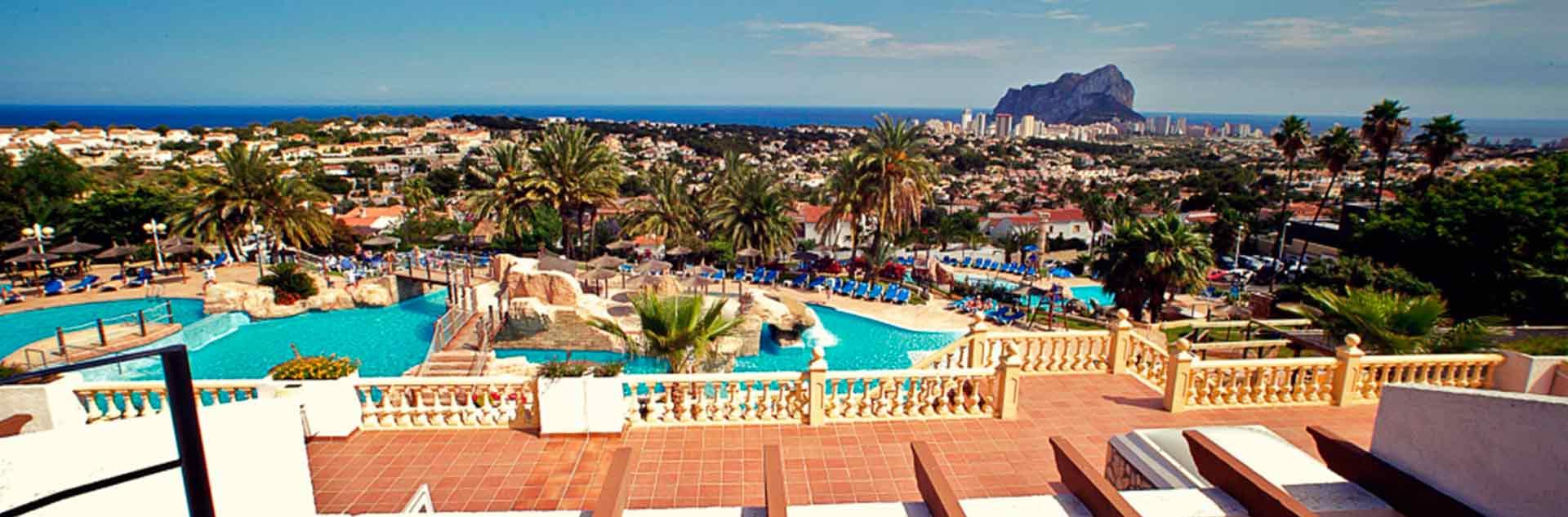 Vistas exteriores del hotel AR Impertial Park Spa Resort de Calpe