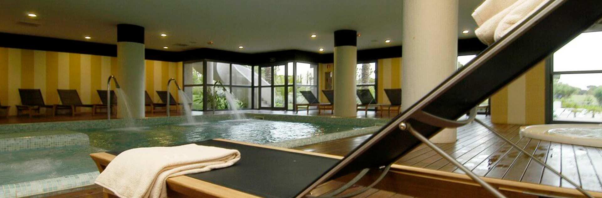 Zona Spa del Hotel 4* en Huelva