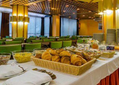 Buffet del Hotel Sant Eloi 3* de Andorra