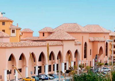 Fachada exterior del hotel IPV Palace & Spa en Fuengirola