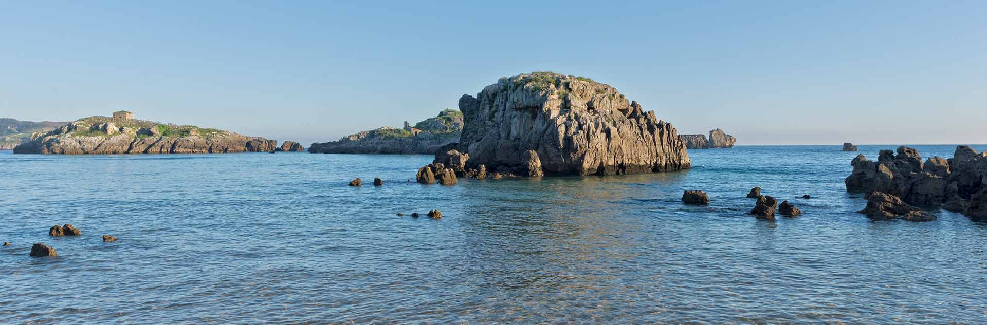 Playa de Ris en Noja, Cantabria