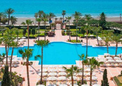 Piscina del Hotel Iberostar Malaga Playa