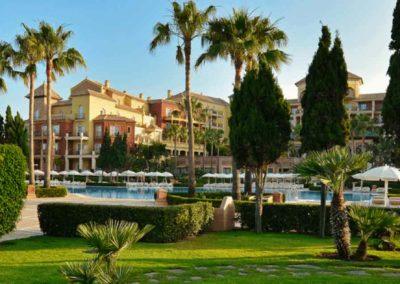Fachada del Hotel Iberostar Malaga Playa 4*