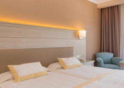 Habitacion estander del Hotel Iberostar Malaga Playa