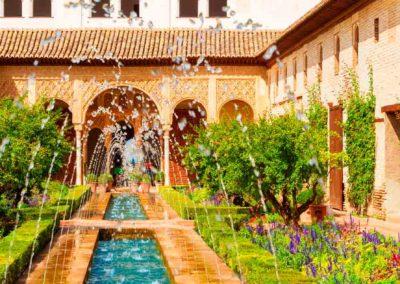 Generalife de la Alhambra Granada