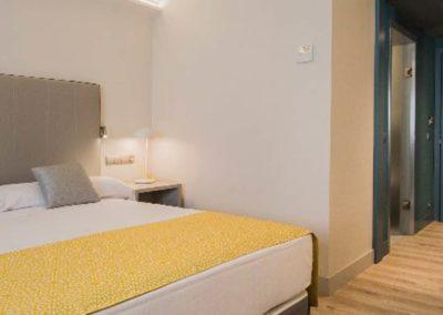 Habitación doble del hotel Catalonia Granada