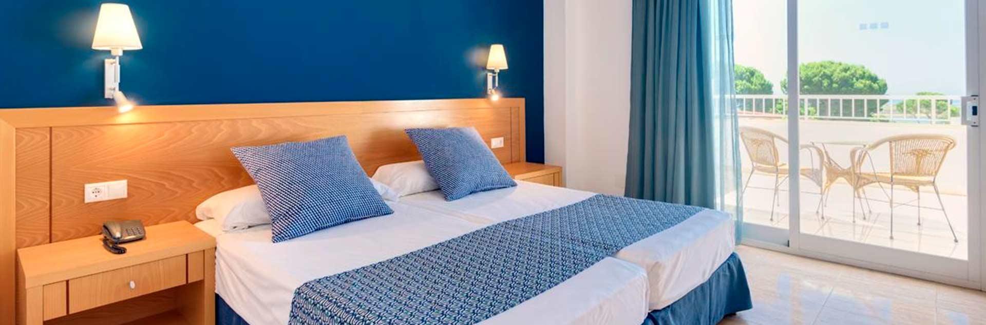 habitacion del estandar del hotel Sentido Playanatural 4*