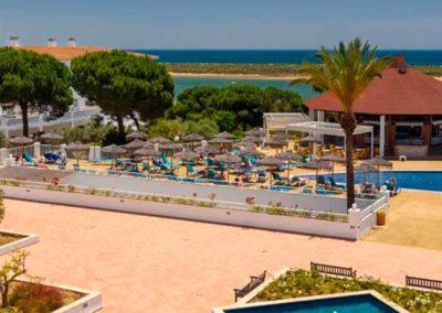Vistas desde el hotel Sentido Playa natural 4* de el rompido