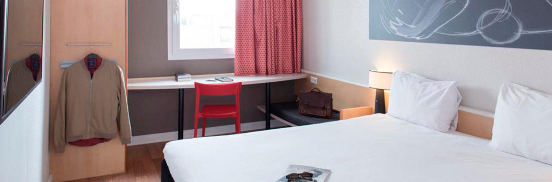 Habitación doble del Hotel Ibis Madrid Fuenlabrada