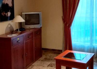 Salón de los apartamentos Noches de Ronda en Cazorla