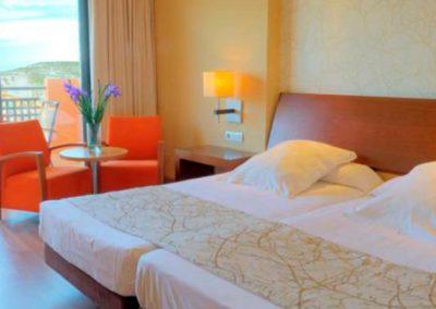 Habitacion doble del Hotel Valle del Este en Vera