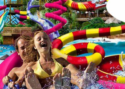 Agua mágica, oferta hotel + entradas