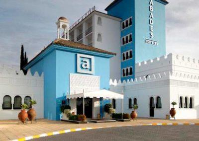 Fachada del hotel 4* en servilla Abades de Benacazón