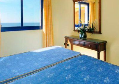 Habitación doble del hotel Vistamar 4*