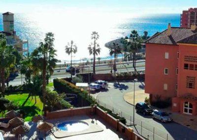 Vistas desde el balcón del Hotel Vistamar 4*
