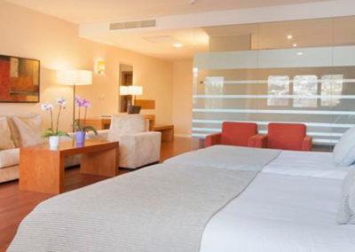 Habitación doble del Hotel Granada Palace 4*