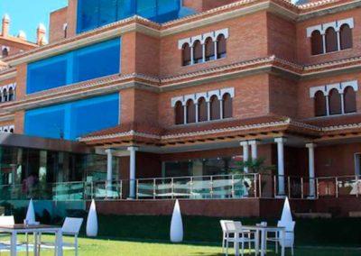 Fachada del Hotel Granada Palace 4*