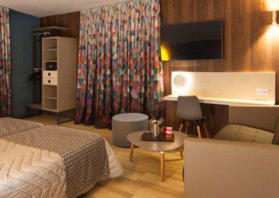 Habitación del hotel de Benidorm, Cuco 3*