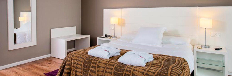 Habitación doble del hotel Balneario Alhama de Aragón