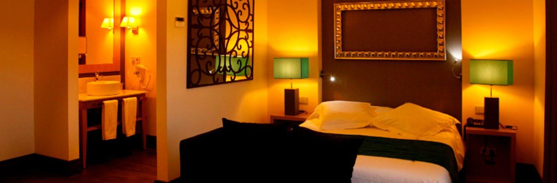 Habitación confort del Hotel Spa Martin el humano