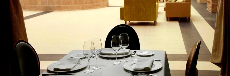 Restaurante Maria de Luna dentro del hotel Spa Martin el Humano