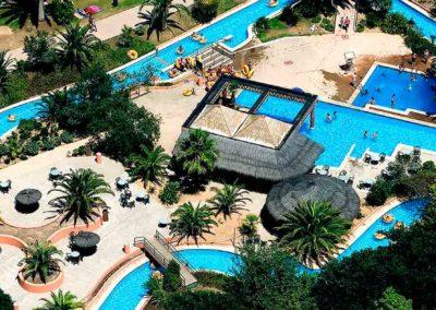 Piscinas de parque aquatico Aquabrava