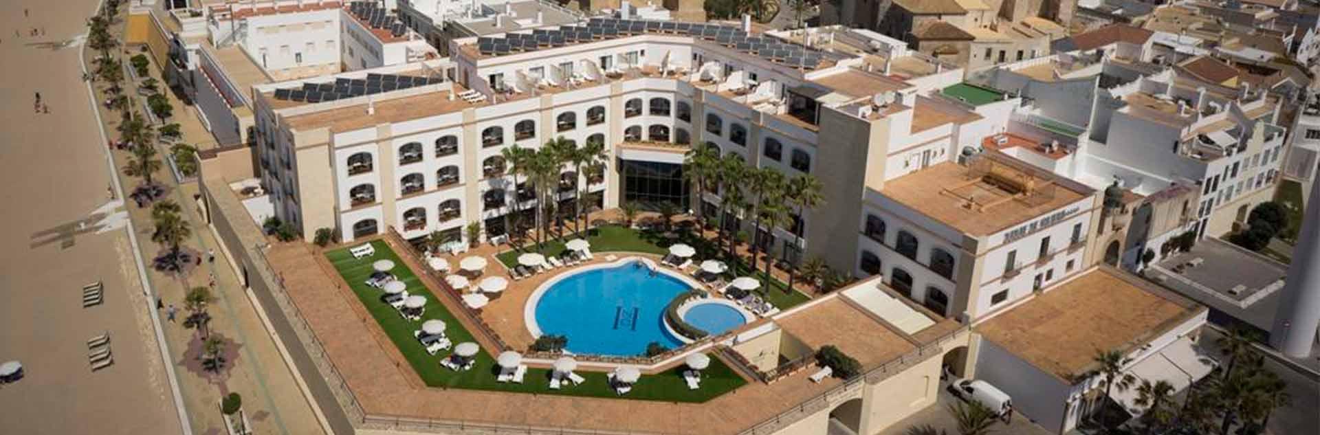 Hotel Duque de Nájera 4* vista aérea