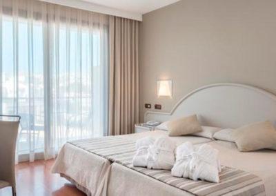 Habitación doble del Vik Gran Hotel Costa del Sol