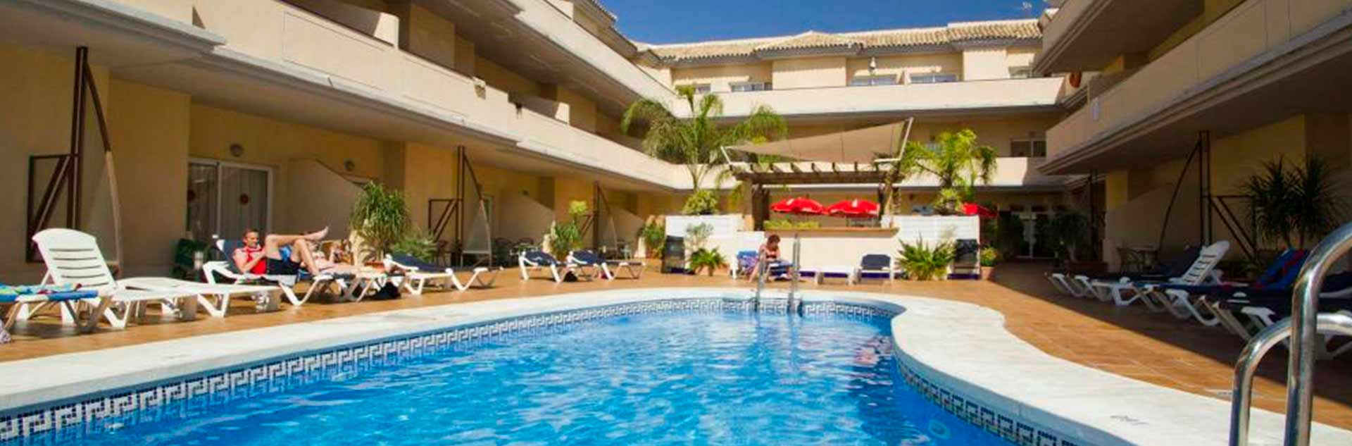 Oferta de sólo alojamiento en los apartamentos Hotel Vista de Rey en Benalmádena