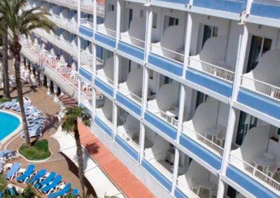 Apartamentos Solimar 3* en Calafell en media pensión