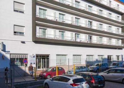Fachada Apartamentos Solimar 3 en Calafell