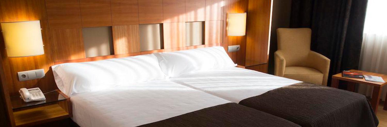 Habitacion doble del Hotel Via Argentum 4*