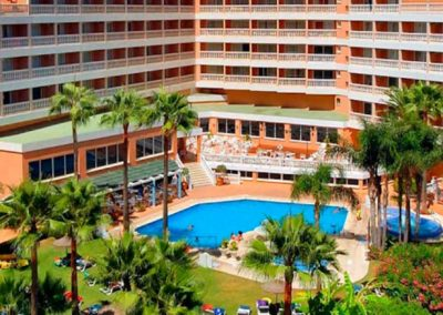 Fachada Hotel 3* en Torremolinos, Hotel Parasol Garden