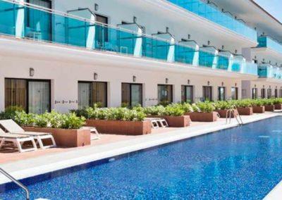 Habitaciones del hotel Costa Ballena en rota, cadiz