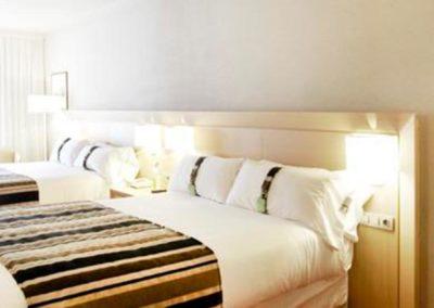 Habitaciones de dos camas del Hotel Holiday Inn Andorra