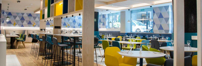 Comedor del Hotel Holiday Inn Andorra 5*