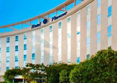 Fachada hotel Florazar en Massalfasar